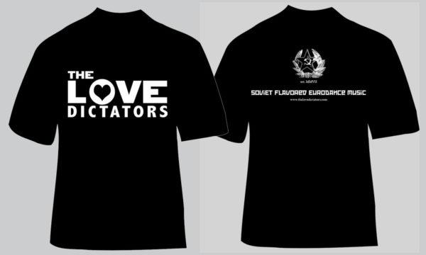 The Love Dictators Mens' Logo Shirt Design